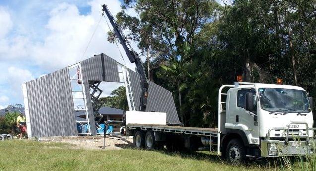 Ronelle Transport Crane Truck